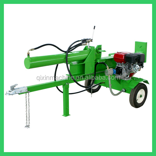 High efficient wood log cutter and splitter