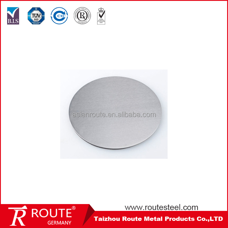 Stainless Steel 430 Circle Price Per Kg/Ton Manufacturer Provide