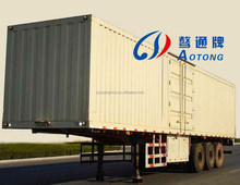 China Multi Purpose Van Type Station Box 2/3 Axles Transport Wagon Truck Semi Trailer(Customized available)