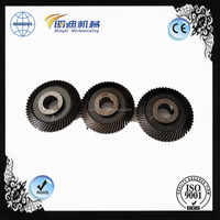 Heat Treatment Industrial Spur gear bevel gear and Helical Gear Shaft