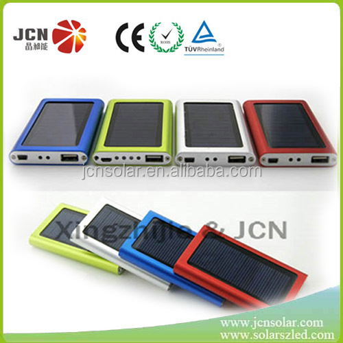 New phone Solar solar charger power bank 2000mah external battery solar sun charger mobile