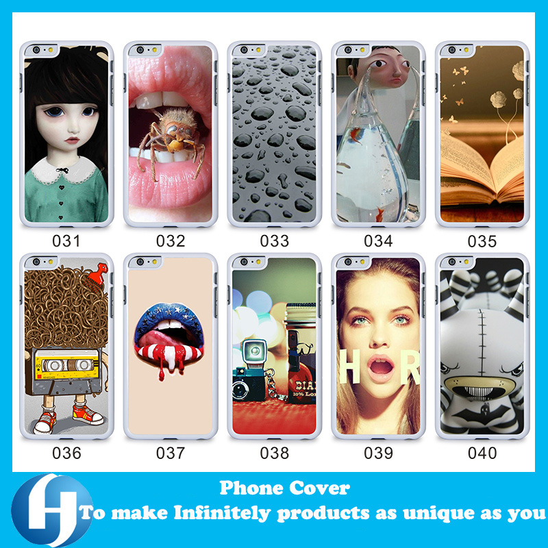 OEM custom cheap 3D water transfer mobile phone cover for smartphone drop shipping beautiful back plastic case for iphone 6
