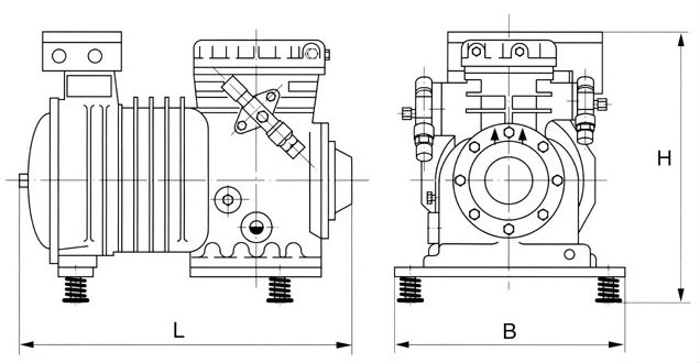 copeland semi hermetic compressor parts  diagram  auto wiring diagram