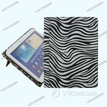 2017 new fashion zebra custom case for samsung galaxy tabs ,10 inch tablet case&cover