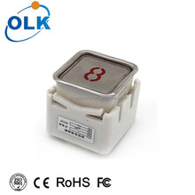 High Quality Stainless Steel Square Elevator Call Button