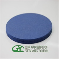 High temperature resistance blue silicone foam pad