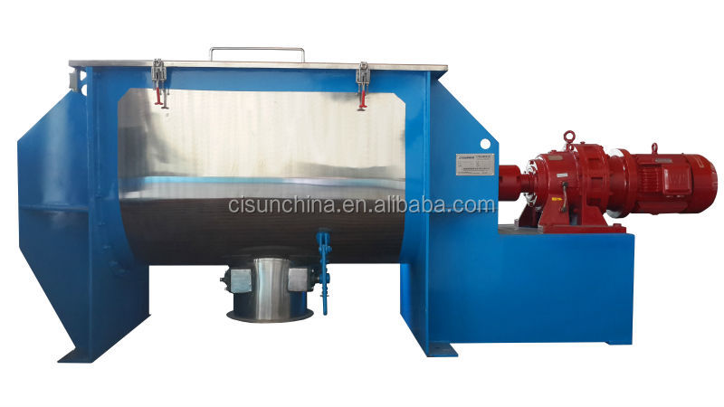 Industrial Powder detergent production machine Horizontal Ribbon Mixer
