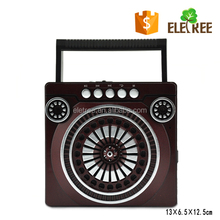 Good quality fm radio fashion design torch radio built in stereo speaker with best bass sound