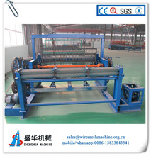 fully automatic filter square crimped woven wire mesh machine, crimped wire mesh weaving machine factory