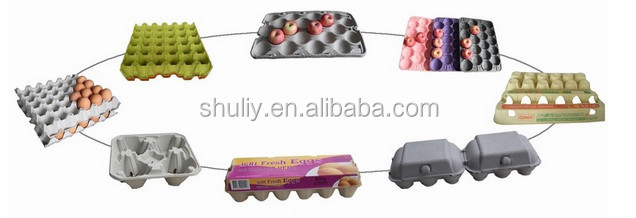 Egg box manufacturing machine