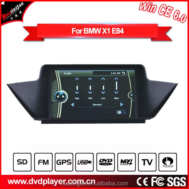 Top-Navi 8INCH WINCE 6 Car PC DVD Player for BMW X1 E84 GPS navigation Wifi BT