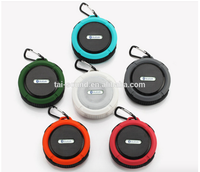 Colorful Round High Fashion Waterproof Dust Prevention Portable Stereo Bluetooth Speaker