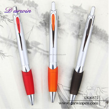 Cheap plastic pen quality ball pen for office and school plastic pen refills