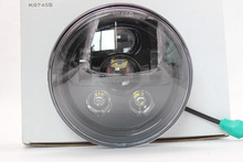 "7"" inch Round Daymker projector Headlamp LED Headlight 12V 24V for harley and Jeep car"