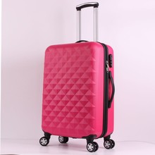 2 pcs/Set Beautiful 14-inch cosmetic bag 20 24 28 inch students Travel luggage trolley case a woman rolling suitcase