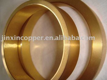 brass tube fitting for synchronizing rings