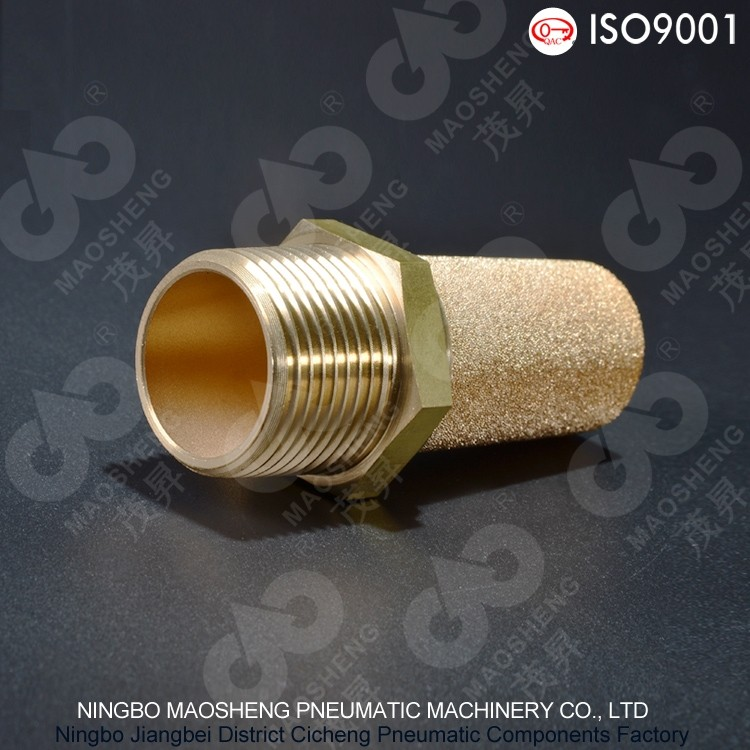 Factory Cheap Bronze Air Compressor Muffler Copper muffler
