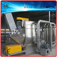 waste plastic recycling machine drying system