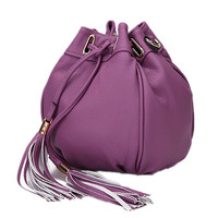 Wholesale purple Lantern Shape Newest Hit Color Fashion Lady Shoulder Bag