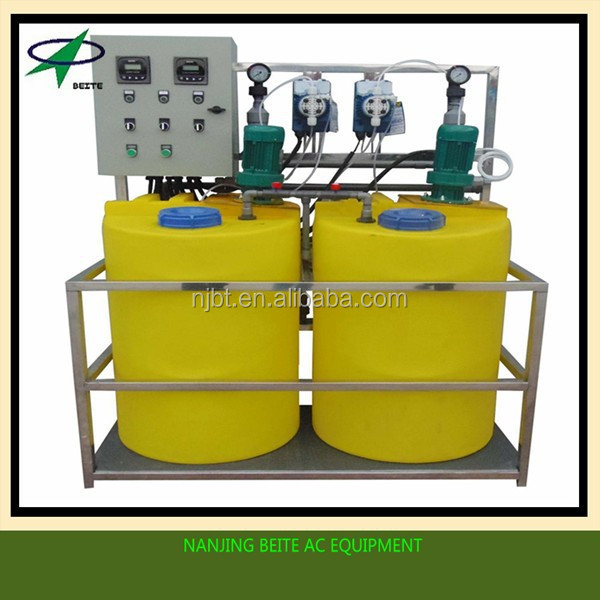 Automatic integrated energy saving dosing equipment for boiler water
