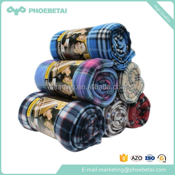 Cheap wholesale polar fleece blanket in bulk