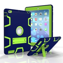 Stand Silicone Case Smart Cover For iPad 2/3/4 Colorful Tablet Case
