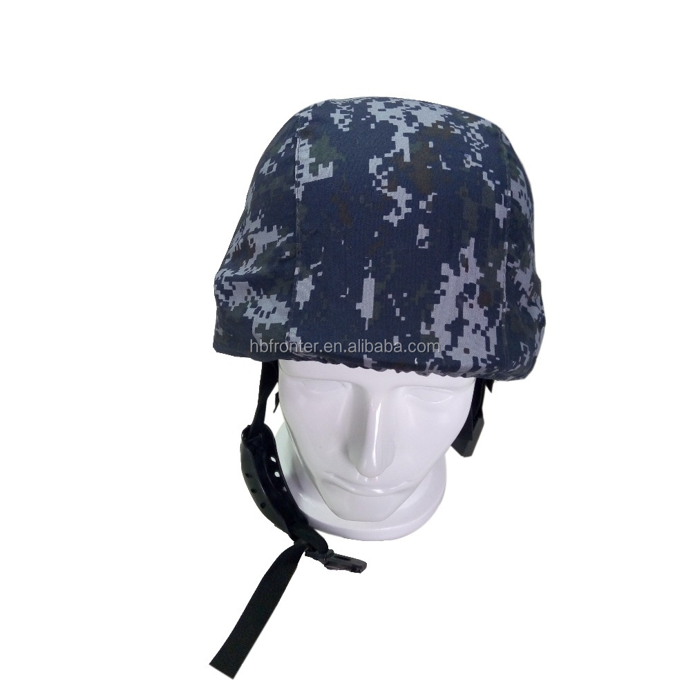 Digital ocean cheap fabric army camouflage helmet cover