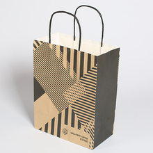 Best Selling Personalized Brown Kraft Paper Gift Bags Wholesale