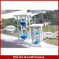 wood frame Sand timer 30 minutes wooden hourglass decoration home