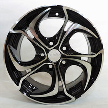 2016 New Design Car Wheel 5 Hole Black Alloy/Aluminum Rims