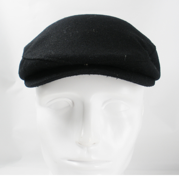 Awesome paypal workable price winter black military peaked cap