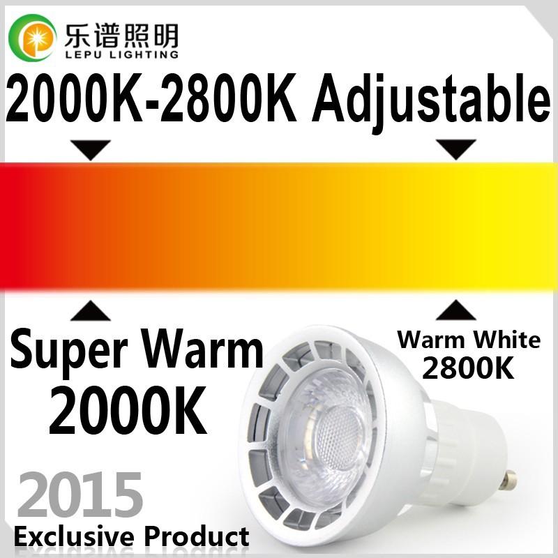Hot Selling Cct Dimming Gu10 Led Bulb Cob Led Work Light 6watt ...