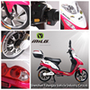 China 2016 cool sport electric scooter 350W power motor,best 48V powerful electric motorcycle with pedals,economy electric motor