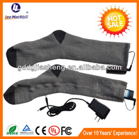 Electric heated thermal foot massage China factory socks