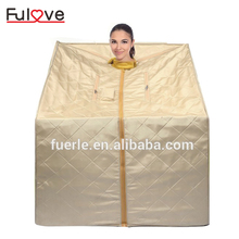 Fuerlel beauty spa cabinet dry infrared ozone steam generator tent portable steam sauna