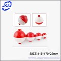 JSM red round plastic fishing tackle---fishing float