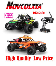 China wholesale rc Monster Truck K959 1:12Scale 2.4GHz High speed Electric rc car Truck Model