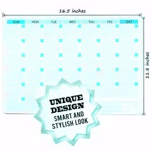 WhiteBoard Monthly Refrigerator Calendar Magnet Fridge Magnet