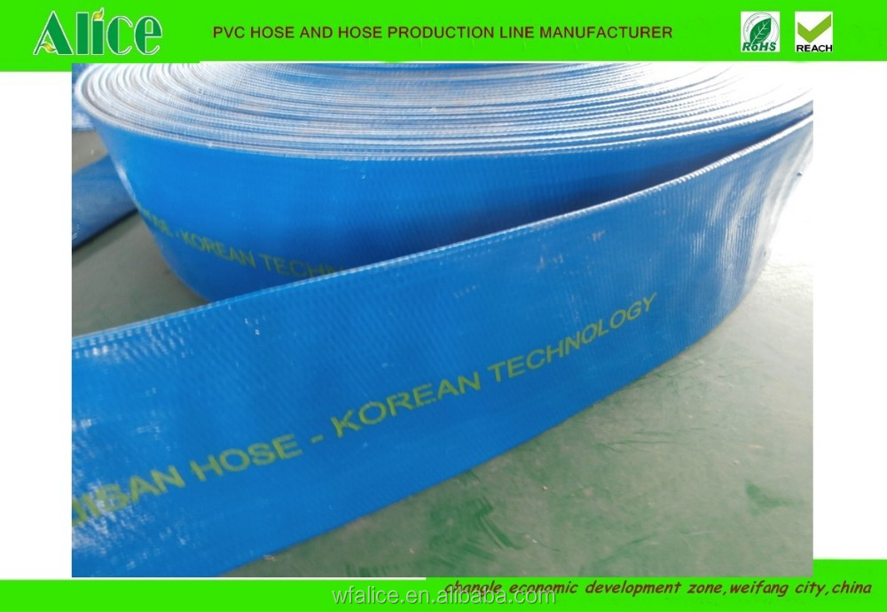 hot sell 1 2 3 4 6inch pvc flat hose 5 inch pvc pipe