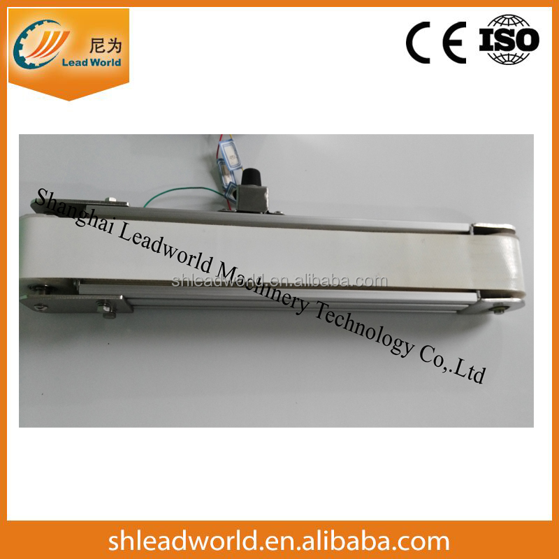 High quality durable mini food transfer belt conveyor from China