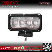 "Wholesale Auto Parts Square 7"" 4X4 Offroad Truck Flood/Spot 12V 40W Led Work Light"