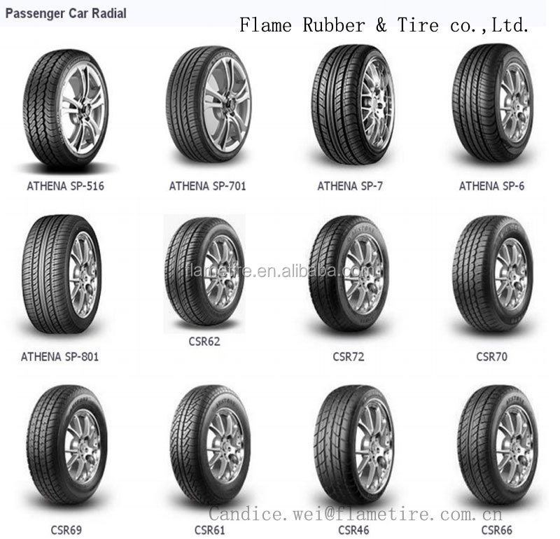 China Best Selling All Kinds TBR PCR Tyre