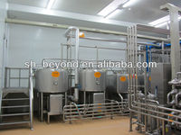 sugar blending tank producing syrup for food industry