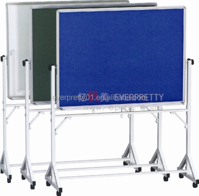 School Classroom Furniture Movable Cork Soft Board School Pin Board