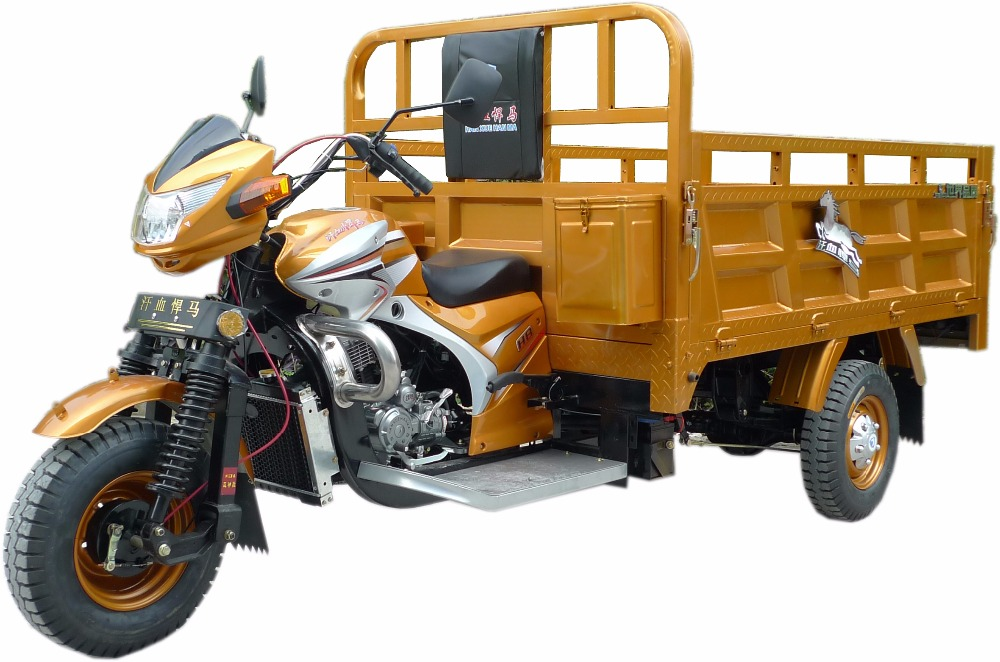 trade assurance150cc water cooled lifan engine cargo bike tricycle