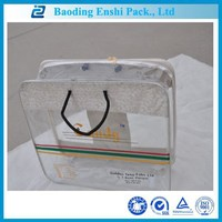 China supplier costomized plastic packaging canvas pvc package bag with logo printing
