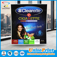 Recyclable/Reusable film outdoor plastic wall sign for hot sale