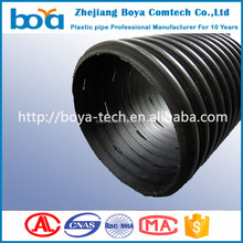 160mm hdpe Perforated Corrugated underground Drainage Pipe