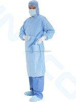 disposable pe doctor coat