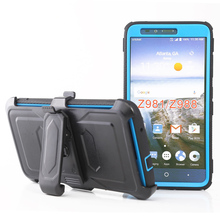 3 in 1Belt Clip Rotating 360 degrees Rugged mobile phone Touch PC front cover for ZTE Blade X / Force Z965 N9517